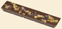 Dark Chocolate with Cherries and Apricots
