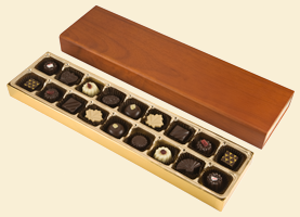 Elegant Oak Box