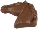 Chocolate Horse Head