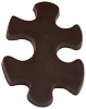 Chocolate Puzzle Piece